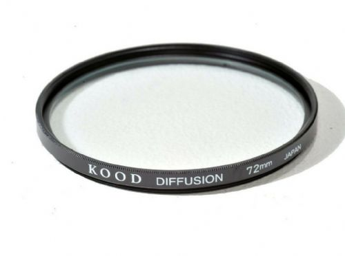 Kood High Quality Soft Focus Filter 72mm Made in Japan Diffuser Filter
